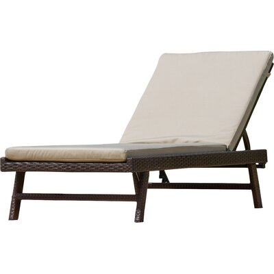 Morfin Chaise Lounge with Cushion