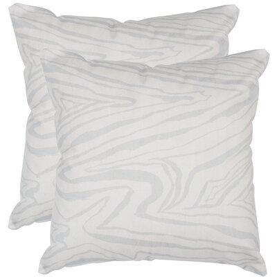 Mccloskey Decorative Satin Throw Pillow