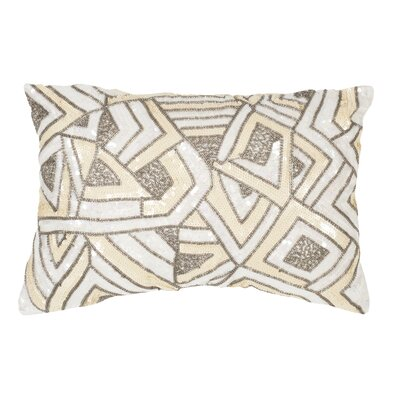 Strayer Lumbar Pillow Color: Pale Yellow