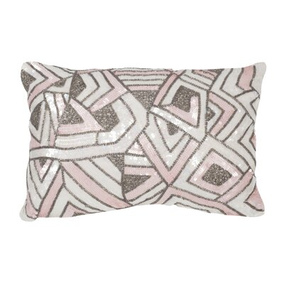Strayer Lumbar Pillow Color: Pale Pink