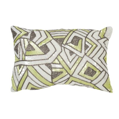 Strayer Lumbar Pillow Color: Macaron Green
