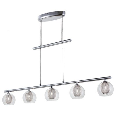 Lough 5-Light Kitchen Island Pendant