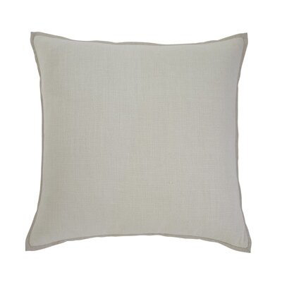 Caro Pillow Cover Color: Ecru