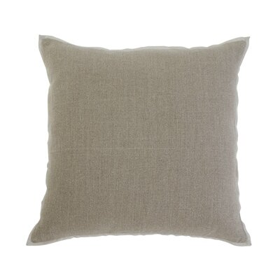 Caro Pillow Cover Color: Khaki
