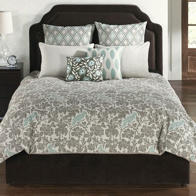Issac 6 Piece Comforter Set Size: Queen