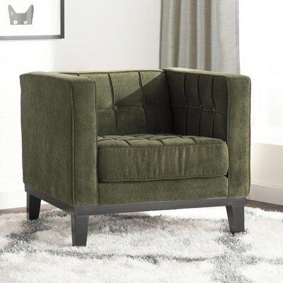 Verdi Armchair Upholstery: Green