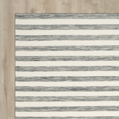 Crawford Hand-Woven Grey/Ivory Area Rug