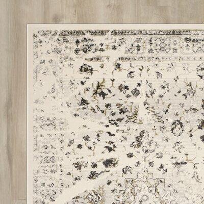 Brayden Studio Longshore Ivory/Light Gray Area Rug