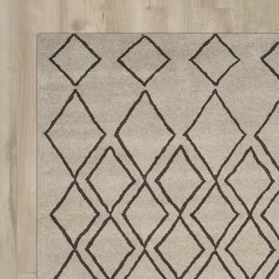 Maxwell Hand-Tufted Light Grey Area Rug