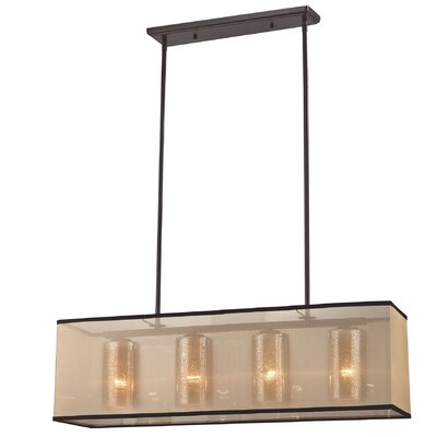 Dailey 4-Light Kitchen Island Pendant Bulb Type: 9.5W LED