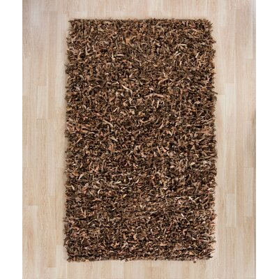 Eveland Brown Area Rug Rug Size: Rectangle 5 x 8