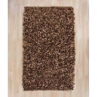 Eveland Brown Area Rug Rug Size: 5 x 8