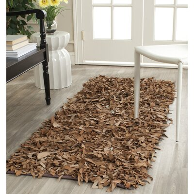 Eveland Brown Area Rug Rug Size: Runner 23 x 6