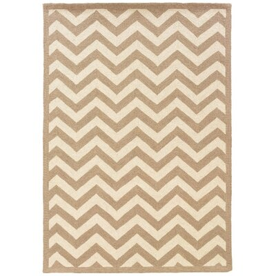 Besser Natural Area Rug Rug Size: Rectangle 53 x 75