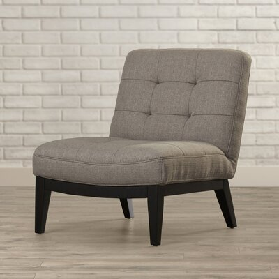 Arenas Slipper Chair Upholstery: Gray