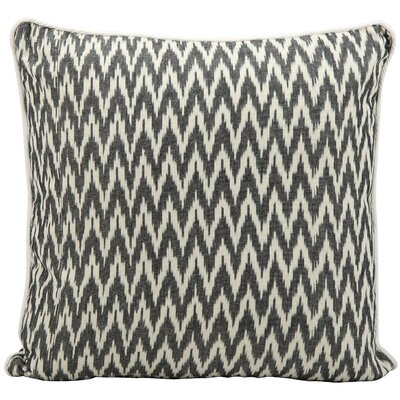 Gaiser Cotton Throw Pillow Color: Black