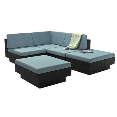 Chretien 5 Piece Seating Group with Cushions