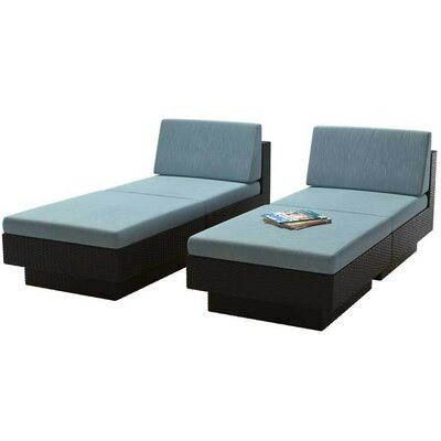 Jetton Chaise Lounge Set with Cushions