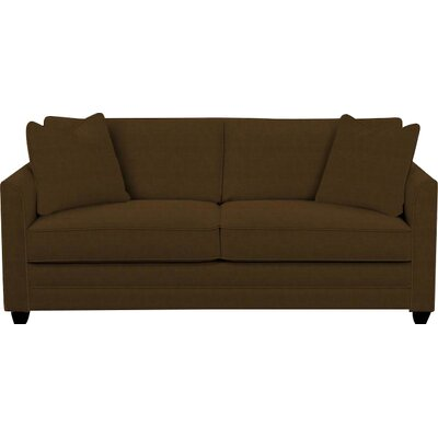 Eliott Innerspring Queen Sleeper Sofa Upholstery: Chocolate