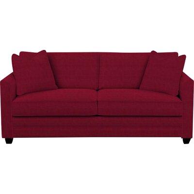 Eliott Innerspring Queen Sleeper Sofa Upholstery: Cinnabar