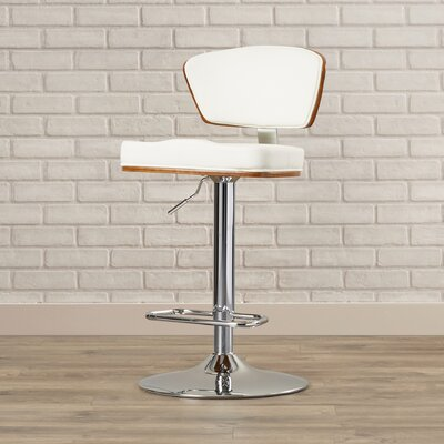 Culpepper Adjustable Height Swivel Bar Stool