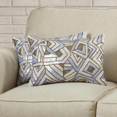 Strayer Decorative Lumbar Pillow Color: Lilac Haze