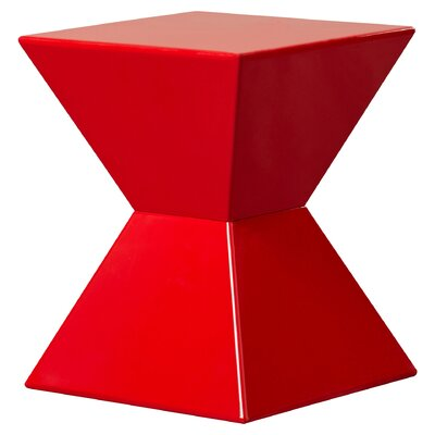 Goodfellow End Table Finish: Red