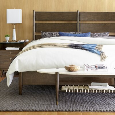 Colston Panel Bed Size: King