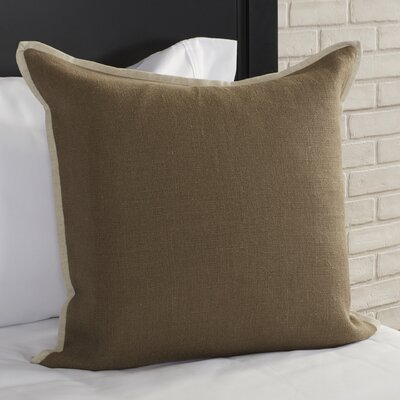 Caro Pillow Cover Color: Gray