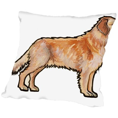 Bussard Retriever Throw Pillow Size: 16 H x 16 W x 2 D