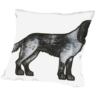 Crick Throw Pillow Size: 18 H x 18 W x 2 D