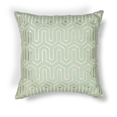 Rudisill Indoor/Outdoor Cotton/Linen Throw Pillow Color: Seafoam