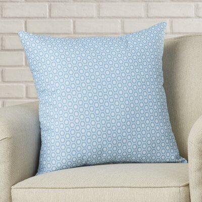 Carignan Throw Pillow Color: Carolina, Size: 18