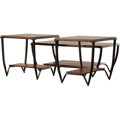 Desantis 3 Piece Coffee Table Set