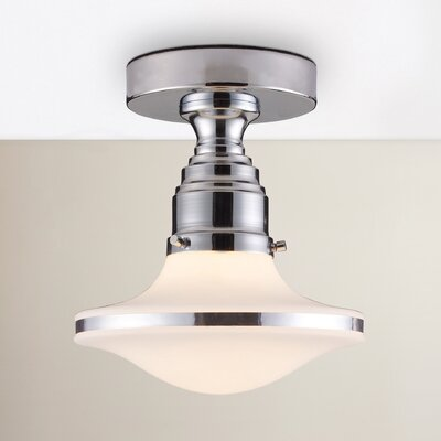 Heatherly 1-Light Semi Flush Mount