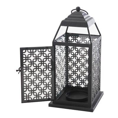 Metal Lantern Size: 12.25 H x 5.75 W x 5.75 D