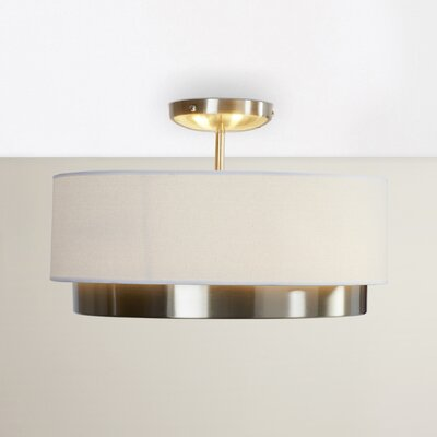 Norsworthy 2-Light Semi Flush Mount