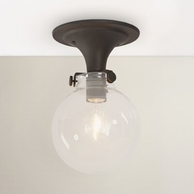 Bunnell 1-Light Semi-Flush Mount Finish: Oil Rubbed Bronze