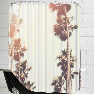 Mina Teslaru Palm Shower Curtain