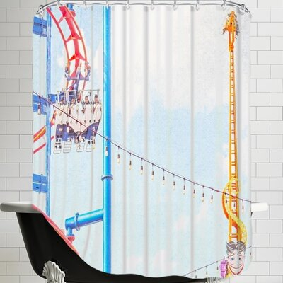 Mina Teslaru Ride the Sky Shower Curtain