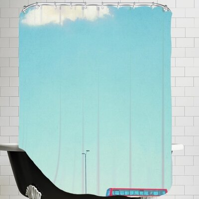 Mina Teslaru Lonely Skies London Shower Curtain