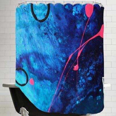 Deb McNaughton XO Splatter Shower Curtain