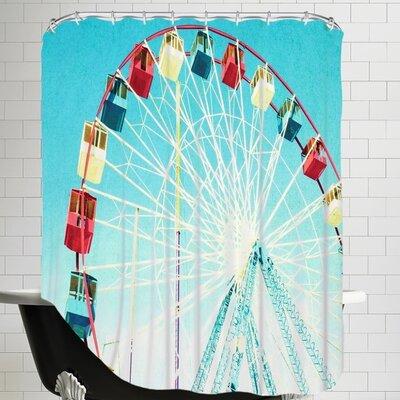 Mina Teslaru Jersey Ferris Shower Curtain