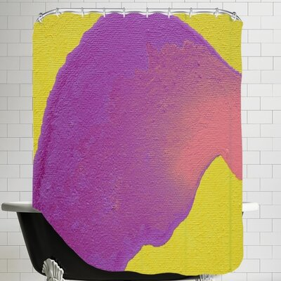 Deb McNaughton Purple to Pink Shower Curtain