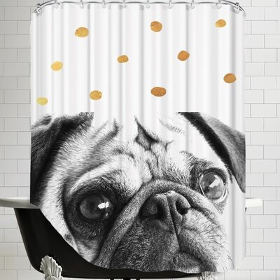Ikonolexi Dog 3 Shower Curtain
