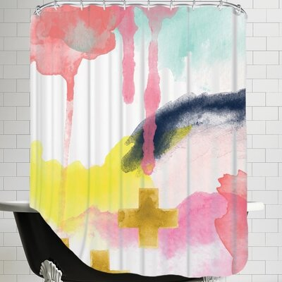 Amy Brinkman Abstract Shower Curtain