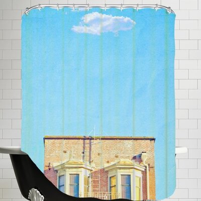 Mina Teslaru Lonely Skies San Francisco Shower Curtain