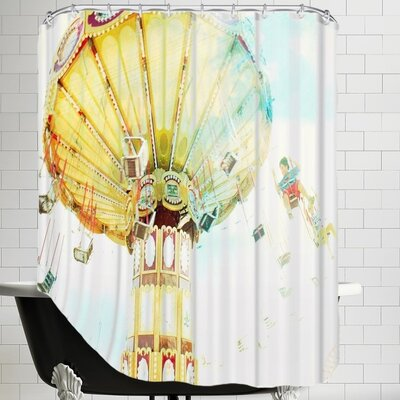 Mina Teslaru Ride the Sky 2 Shower Curtain