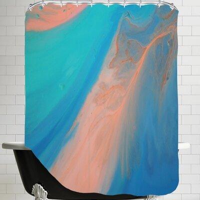Deb McNaughton Marble Shower Curtain