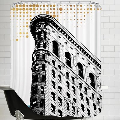 Ikonolexi NYC Shower Curtain